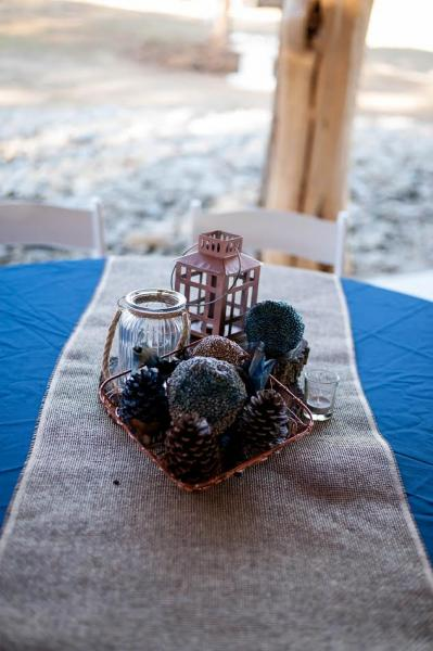Bring your vision to life at our barn venue! You have the freedom to decorate with beautiful centerpieces to your heart's content!