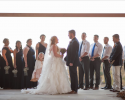 Our unique barn venue can accommodate event the largest wedding parties and up to 250 guests!